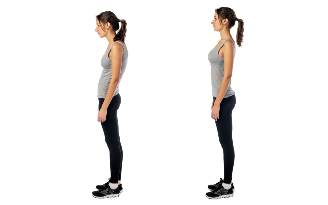What should business professionals be doing to take care of their posture now?
